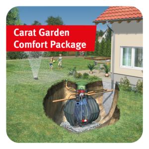 Carat Garden Comfort Rainwater Harvesting Package