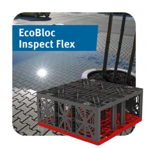 EcoBloc Inspect Flex Stormwater Attenuation Crate