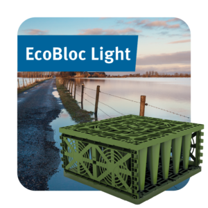 EcoBloc Light Stormwater Attenuation Crate