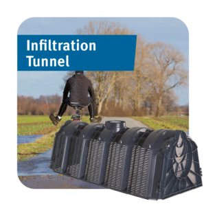 Infiltration Tunnel for Soakaways