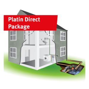 Platin Direct Rainwater Harvesting Package