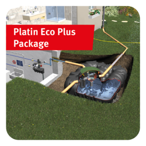 Platin Eco Plus Rainwater Harvesting Package