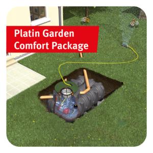 Platin Garden Comfort Rainwater Harvesting Package