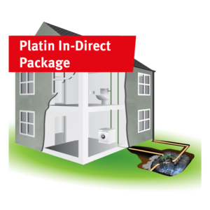 Platin In-Direct Rainwater Harvesting Package