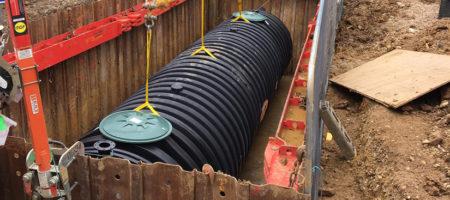 Oak View Primary School – Firefighting Water Tank