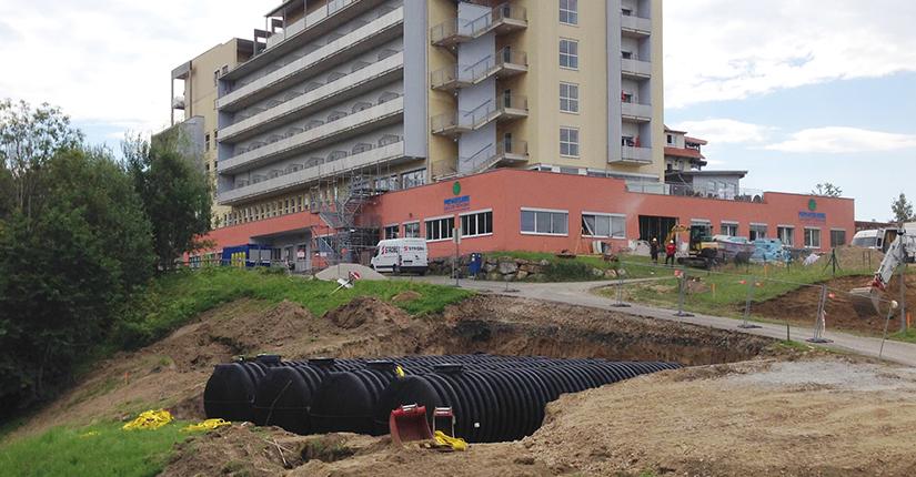 underground firefighting water tanks