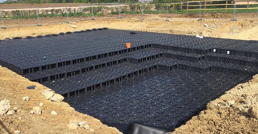 EcoBloc Flex Stormwater Attenuation Tank