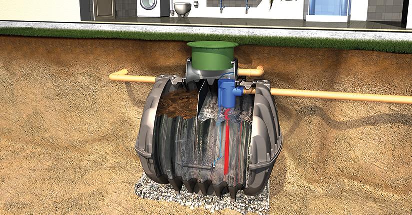 Graf UK One2clean sewage treatment plant